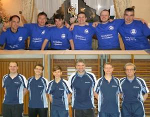 Aufstieg 3. und 4. Mannschaft Aufstieg 2011